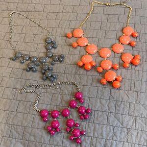 Set of bubble necklace